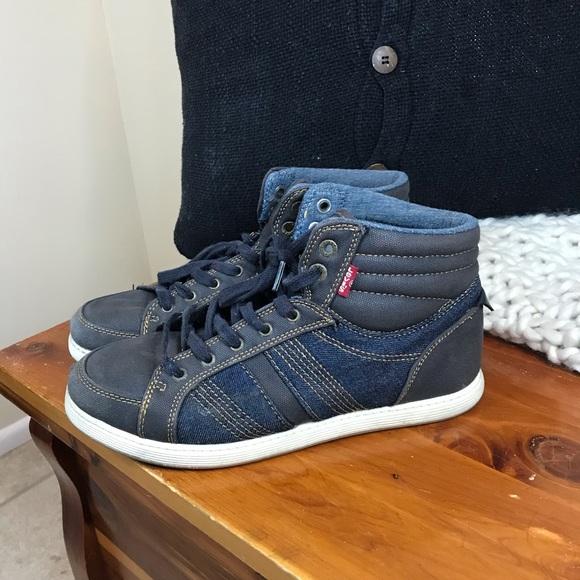 Levi's Shoes | Men Levi Denim Dark High